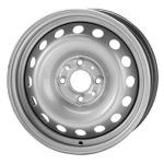 KWM Стальной диск серебристый 6*15 4*114.3 ET44 56.6