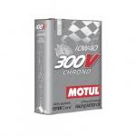 Масло моторное синтетическое Motul 300 V Chrono 2л 10W40