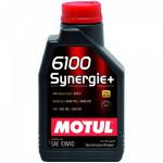 Масло моторное синтетическое Motul 6100 Synergie+ 1л 10W40