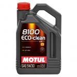 Масло моторное синтетическое Motul 8100 Eco-Clean 5л 5W30
