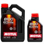 Масло моторное синтетическое Motul 8100 Eco-lite 4л 5W30
