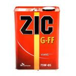 Масло трансмиссионное синтетическое ZIC G-FF 4л 75W85