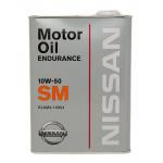Масло моторное синтетическое Nissan GTR Endurance 4л 10W50
