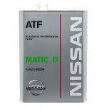 Масло трансмиссионное синтетическое Nissan ATF Matic Fluid D 4л