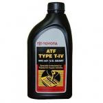 Масло трансмиссионное синтетическое Toyota ATF Type T-IV 1л