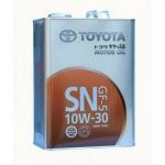 Масло моторное синтетическое Toyota Motor Oil 4л 5W30