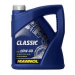 Масло моторное полусинтетическое Mannol Classic 4л 10W40
