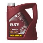 Масло моторное синтетическое Mannol Elite 4л 5W40