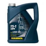 Масло моторное минеральное Mannol TS-1 SHPD 5 л 15W40