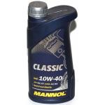 Масло моторное полусинтетическое Mannol Classic 1л 10W40