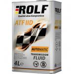 Масло трансмиссионное минеральное ROLF ATF IID 4л